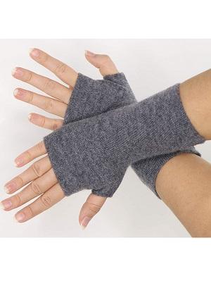 guantes de cashmere de mujer