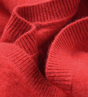jersey cashmere mujer rojo